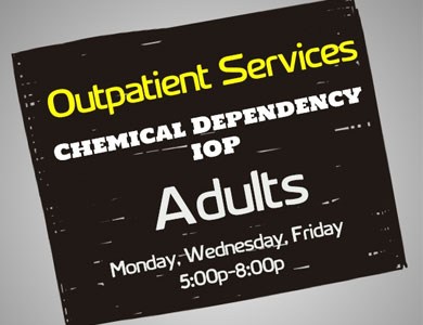Chemical Dependency/IOP Programs for Adults